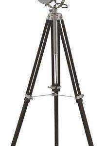 Lattiavalaisin Spot Ø 210x1100-1650 mm kromi/musta