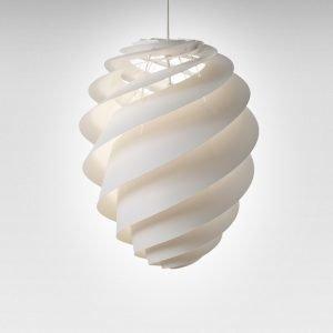 Le Klint Swirl 2 Kattovalaisin Large Valkoinen