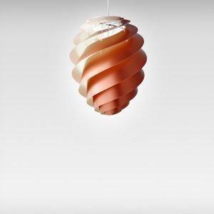 Le Klint Swirl 2 Kattovalaisin Medium Kupari
