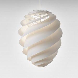 Le Klint Swirl 2 Kattovalaisin Medium Valkoinen