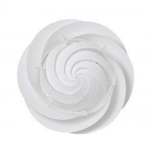Le Klint Swirl Katto / Seinävalaisin Medium Valkoinen