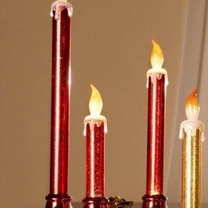 Led Kynttilä 3 / Pakkaus. Punainen