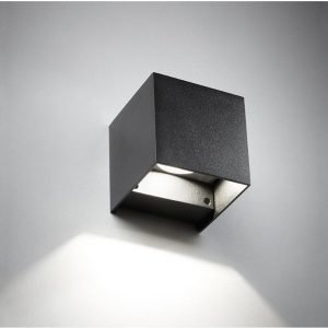 Light-Point Box Mini Down Seinävalaisin Musta