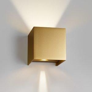 Light-Point Box Up / Down Seinävalaisin Kulta