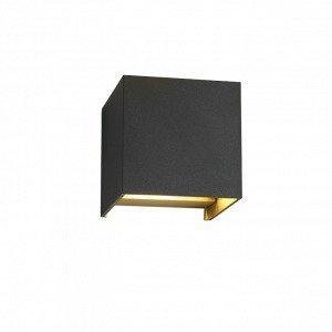 Light-Point Box Up / Down Seinävalaisin Musta / Kulta