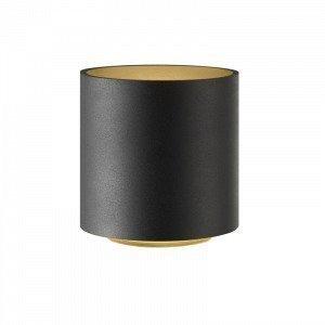Light-Point Cozy Round Pöytävalaisin Musta / Kulta