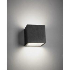 Light-Point Cube Xl Ulko Seinävalaisin Up / Down Musta