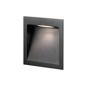 Light-Point Deli 2 Seinävalaisin Musta