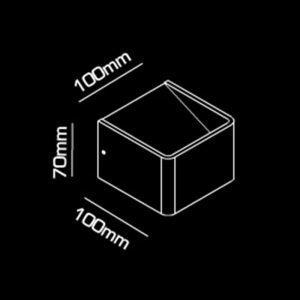 Light-Point Mood 1 Led Seinävalaisin Musta / Kulta