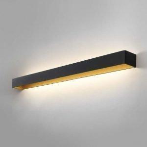 Light-Point Mood 4 Led Seinävalaisin Musta / Kulta