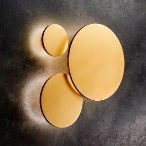 Light-Point Soho W3 Led Seinävalaisin Ø30 Kulta