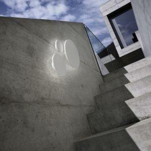 Light-Point Soho W3 Led Seinävalaisin Ø30 Valkoinen
