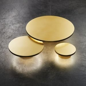 Light-Point Soho W4 Led Seinävalaisin Kulta