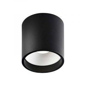 Light-Point Solo Round Kattovalaisin Musta