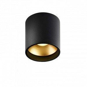 Light-Point Solo Round Kattovalaisin Musta / Kulta