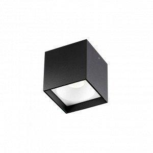 Light-Point Solo Square Kattovalaisin Led Musta