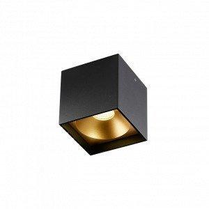 Light-Point Solo Square Kattovalaisin Musta / Kulta