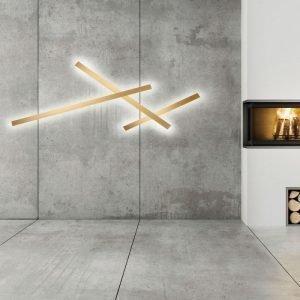Light-Point Stick 120 Led Seinävalaisin Kulta