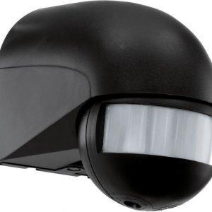 Liiketunnistin Detect ME 62x92x82 mm 180° musta