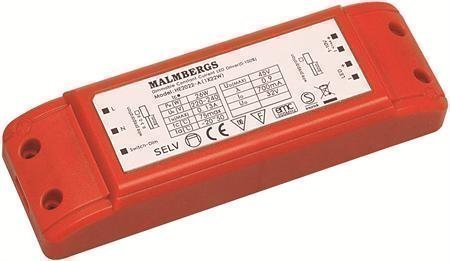 Liitäntälaite LED-Multidriver MB 115x45x28 mm 22W 32V 700mA himmennettävä
