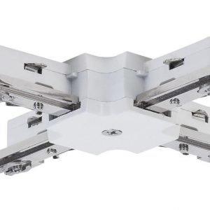 Liitin X-haara URail X-Connector 36x36 mm valkoinen