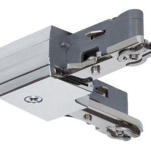 Liitin suorakulma URail L-Connector 29x29 mm kromi
