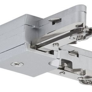 Liitin suorakulma URail L-Connector 29x29 mm mattakromi