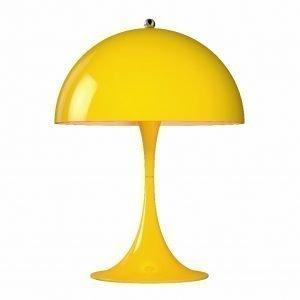 Louis Poulsen Panthella Mini Pöytävalaisin Keltainen