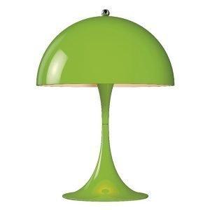 Louis Poulsen Panthella Mini Pöytävalaisin Keltaisenvihreä