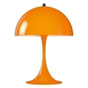 Louis Poulsen Panthella Mini Pöytävalaisin Oranssi
