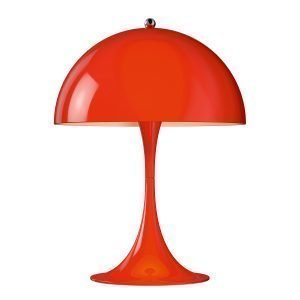 Louis Poulsen Panthella Mini Pöytävalaisin Punainen