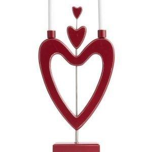 Love Love Love Sähkökynttelikkö Punainen