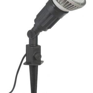 Maapiikkivalaisin Airam E27 Ø 100x515 mm musta + LED-lamppu
