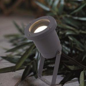 Maapiikkivalaisin Spotlight Ø 100x400 mm alumiini