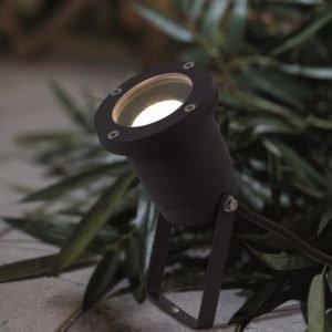 Maapiikkivalaisin Spotlight LED Ø 100x400 mm musta