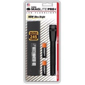 Maglite Mini Magled Aa Pro+ Taskulamppu Lahjapakkaus Musta