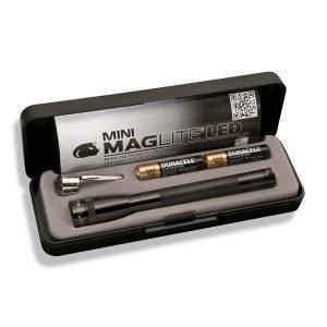 Maglite Mini Maglite Aaa Led Taskulamppu Lahjapakkaus Musta