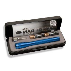 Maglite Mini Maglite Aaa Led Taskulamppu Lahjapakkaus Sininen