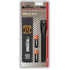 Maglite Mini Maglite Led Aa Pro Taskulamppu Musta 2xaa+Vyötuppi