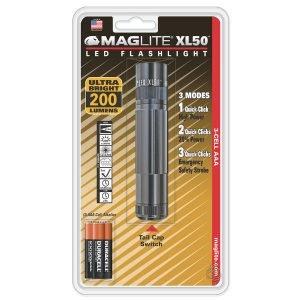 Maglite Xl50 Led 3aaa Taskulamppu Harmaa