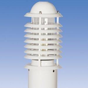 Majakkapollari Averia AVGP01 Ø 160x1210 mm valkoinen
