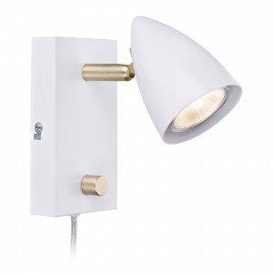 Markslöjd Ciro Seinävalaisin 1 Lamppu Valkoinen / Messinki Valkoinen