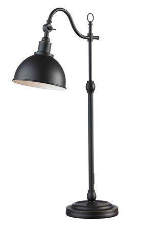 Markslöjd Ekelund Pöytälamppu Ruskea/Musta