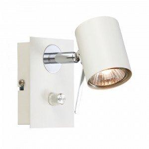Markslöjd Hyssna Seinäspotti 1 Lamppu Valkoinen Valkoinen