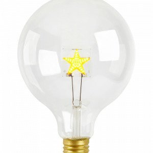 Markslöjd Led Bulb Filament Stjärna E27 Valonlähde Lasia