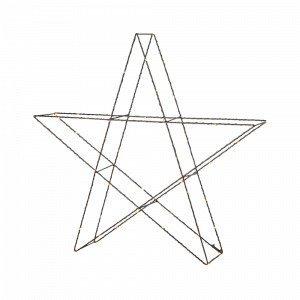 Markslöjd Mystic 55 Valotähti Musta