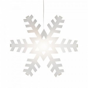 Markslöjd Nygården Valotähti Valkoinen 48 Cm