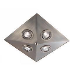 Markslöjd Pyramid kylpyhuonevalaisin (harjattu teräs)