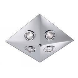 Markslöjd Pyramid kylpyhuonevalaisin (kromi)