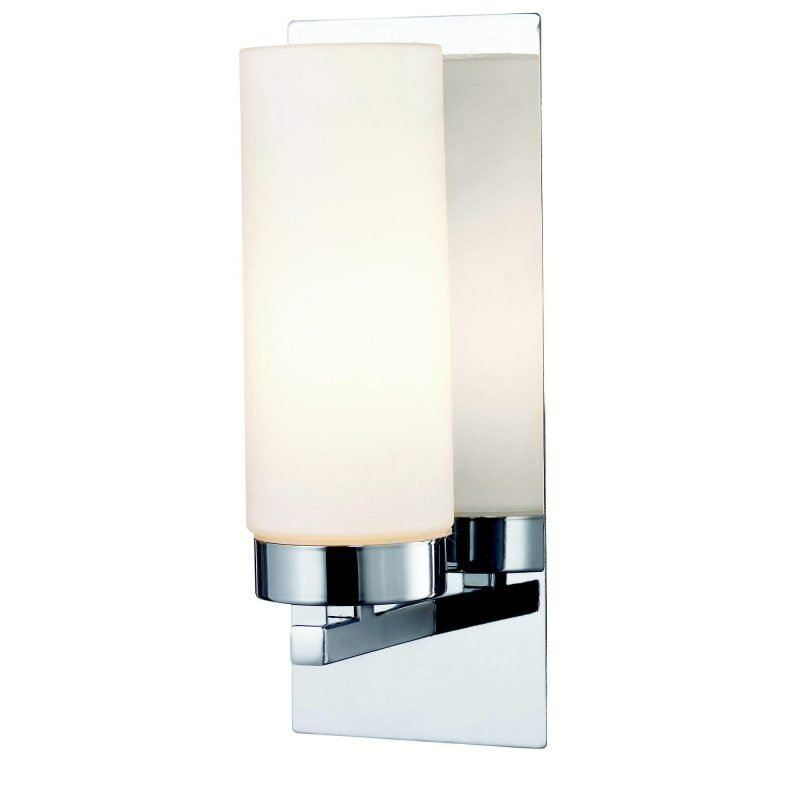 Markslöjd Seinävalaisin Norrsundet 90x230 mm kromi/opaali IP44 (kylpyhuonevalaisin)